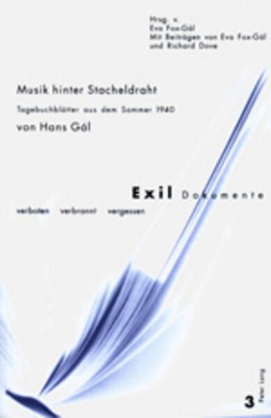 Musik hinter Stacheldraht als Buch von Hans Gál