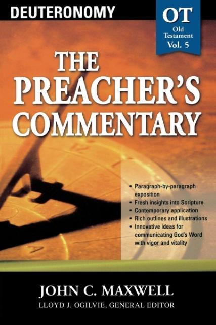 Deuteronomy (the Preacher's Commentary) als Taschenbuch