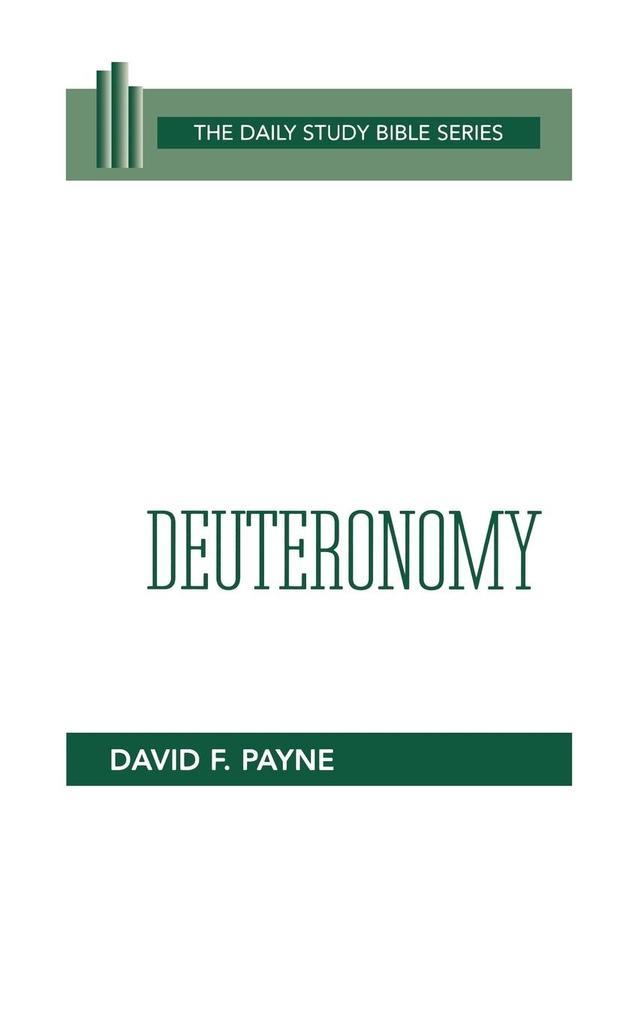 Deuteronomy (Dsb-OT) als Taschenbuch