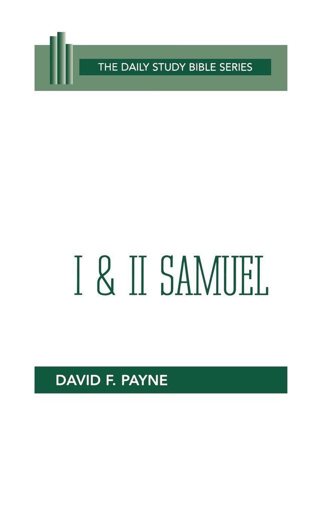 First and Second Samuel (DSB-OT) als Taschenbuch