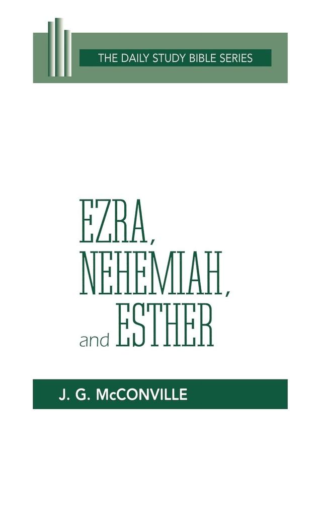 Ezra, Nehemiah, and Esther (DSB-OT) als Buch