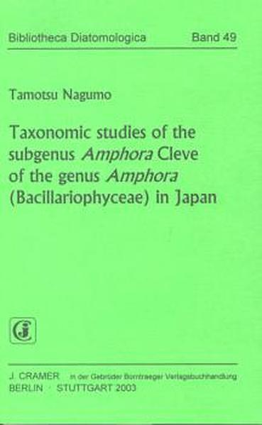 Taxonomic studies of the subgenus Amphora Cleve...