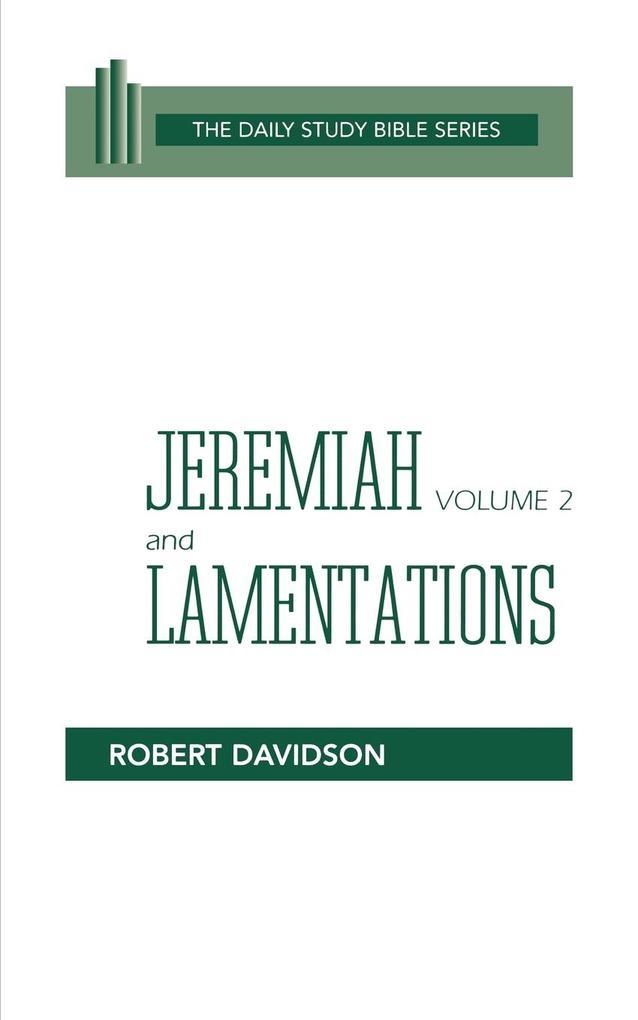 Jeremiah & Lamentations (Dsb-Ot) Vol 2 als Taschenbuch