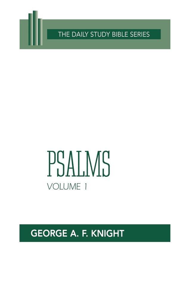Psalms, Volume 1: Psalms 1-72 als Taschenbuch