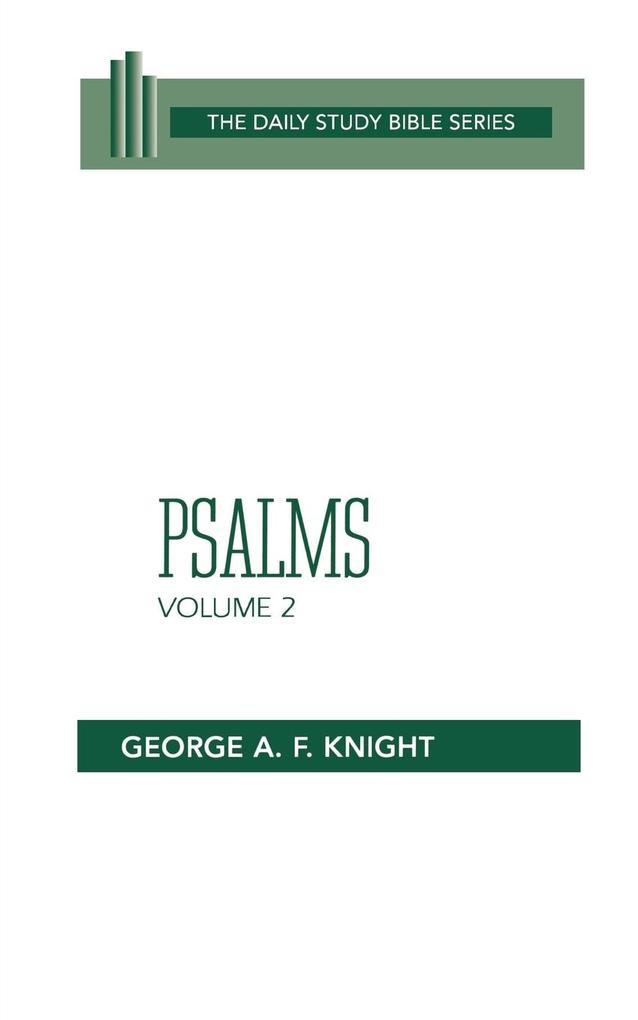 Psalms, Volume 2: Psalms 73-150 als Taschenbuch