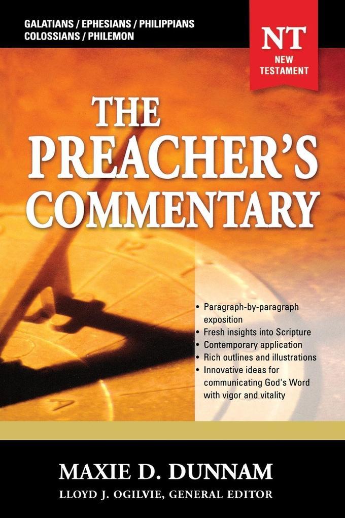 Galatians, Ephesians, Philippians, Colossians, Philemon als Taschenbuch