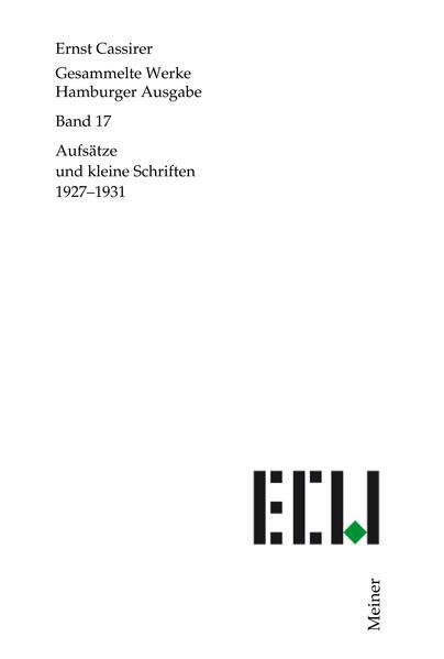 Gesammelte Werke. Hamburger Ausgabe / Aufsätze ...