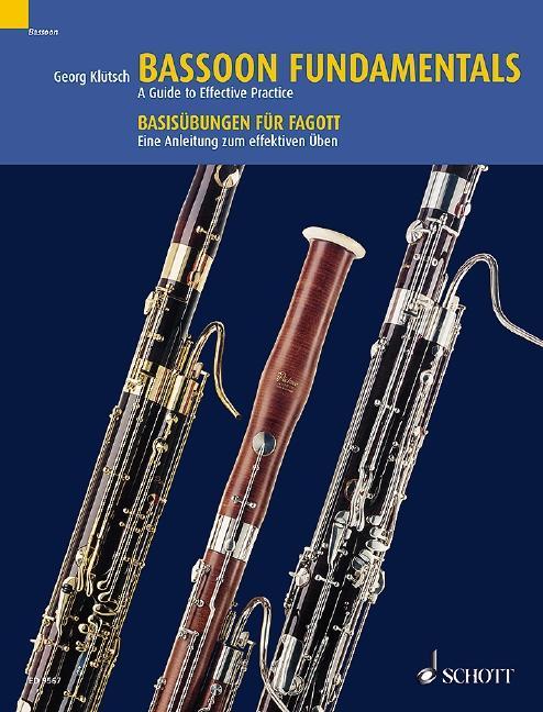 Basisübungen für Fagott als Buch von Georg Klütsch