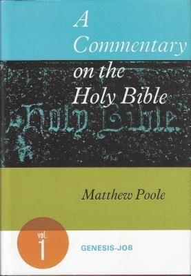Comt-Poole-Genesis-Job V1: als Buch