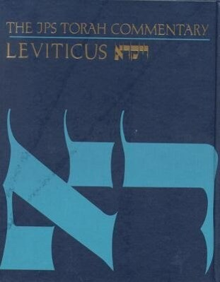 The JPS Torah Commentary: Leviticus als Buch