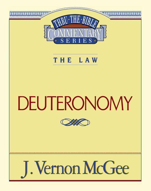 Thru the Bible Vol. 09. the Law (Deuteronomy) als Taschenbuch