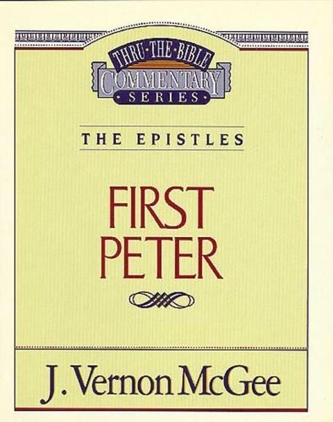 Thru the Bible Vol. 54: The Epistles (1 Peter) als Taschenbuch