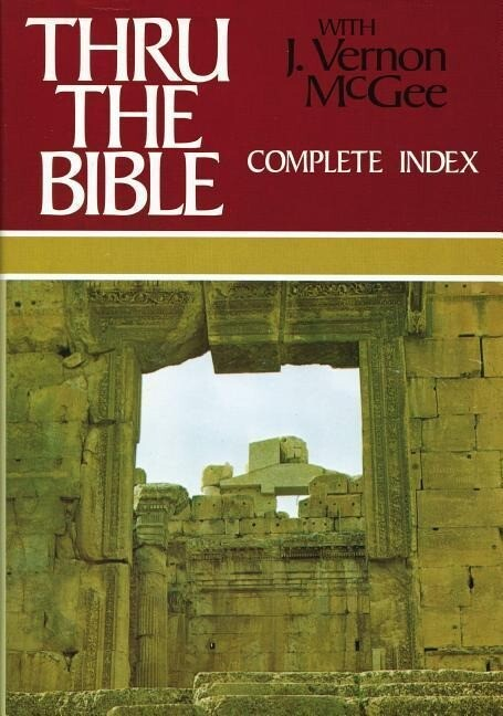 Thru the Bible Complete Index als Buch