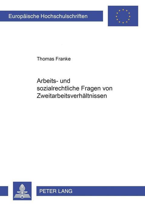 Arbeits- und sozialrechtliche Fragen von Zweita...