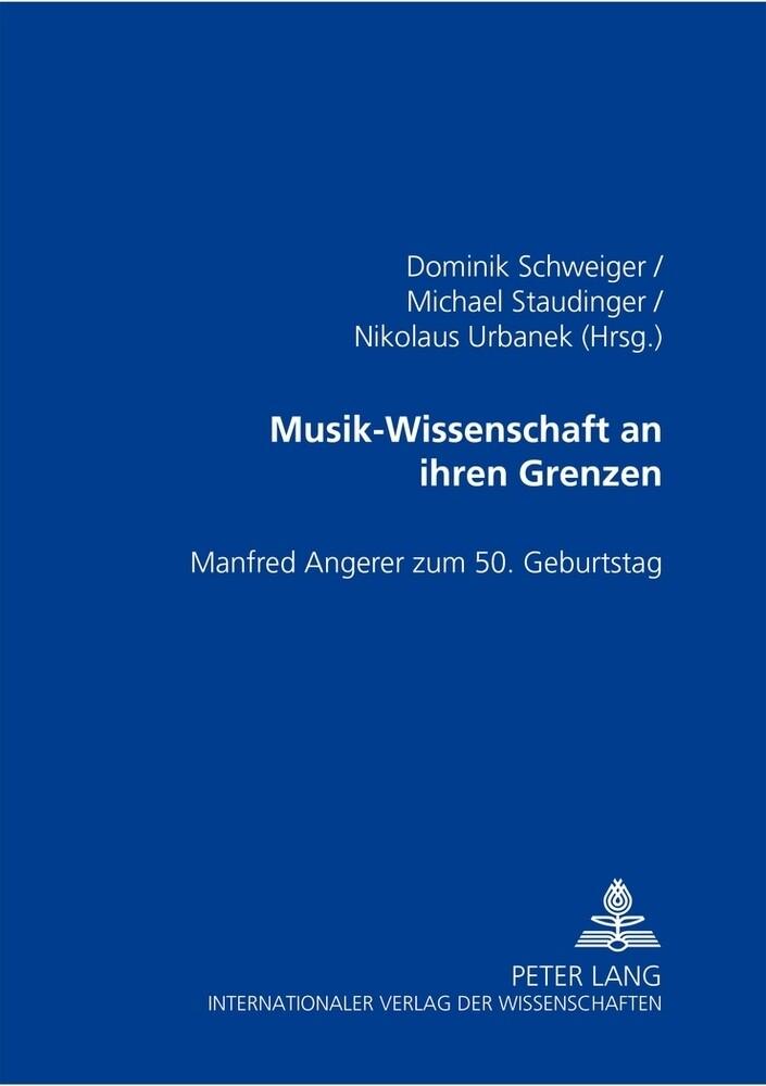 Musik-Wissenschaft an ihren Grenzen als Buch von