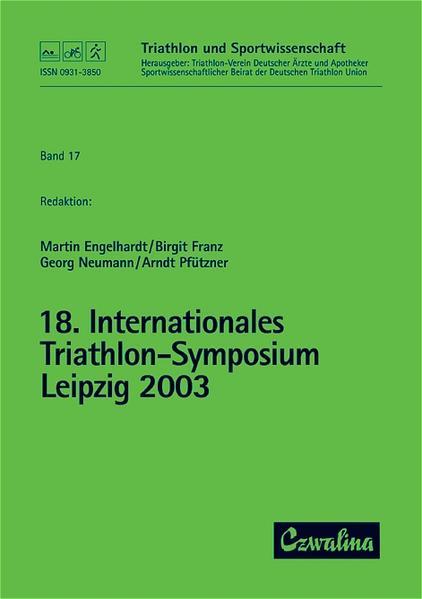 18. Internationales Triathlon-Symposium Leipzig...