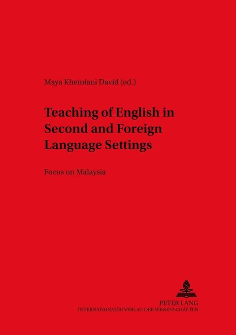 Teaching of English in Second and Foreign Langu...