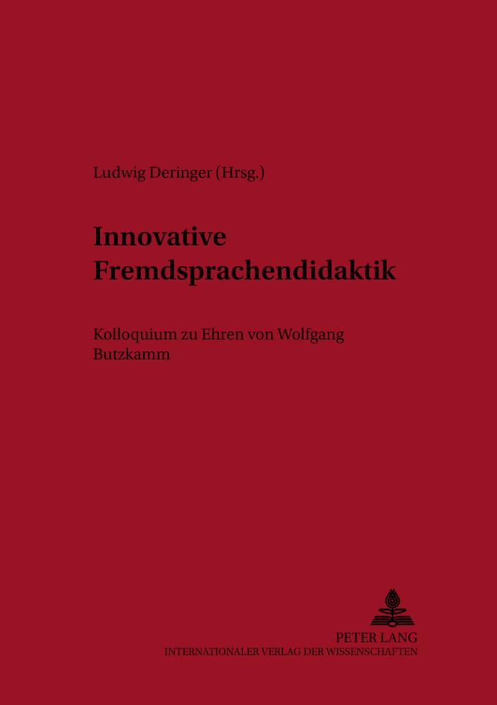 Innovative Fremdsprachendidaktik als Buch von
