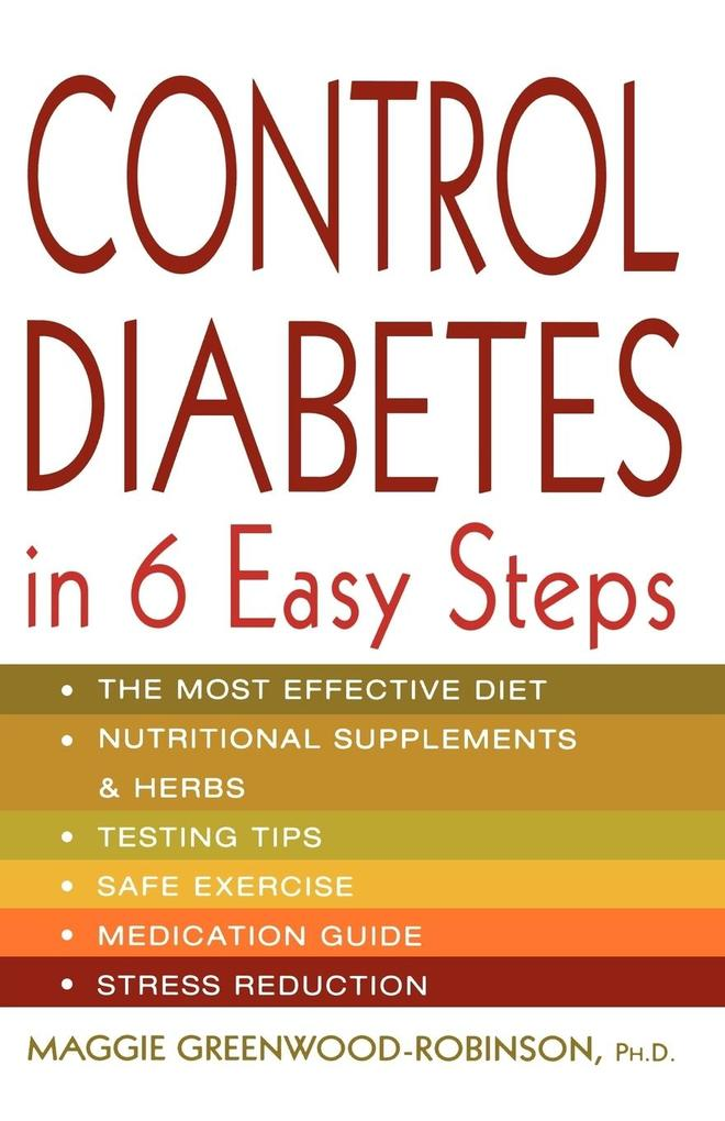 Control Diabetes in Six Easy Steps als Taschenbuch
