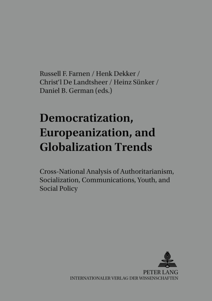 Democratization, Europeanization, and Globaliza...