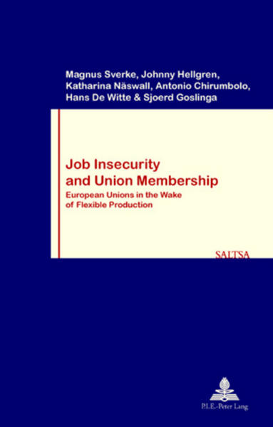 Job Insecurity and Union Membership als Buch vo...
