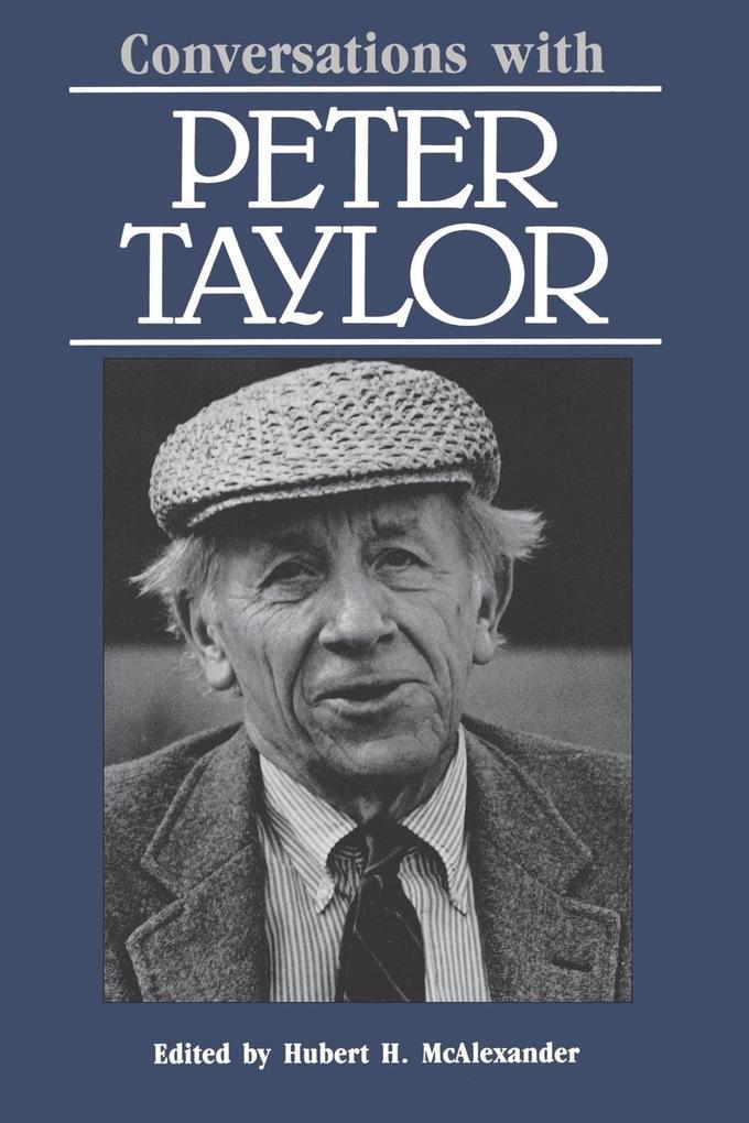 Conversations with Peter Taylor als Taschenbuch