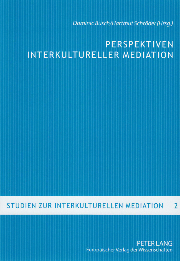 Perspektiven interkultureller Mediation als Buc...