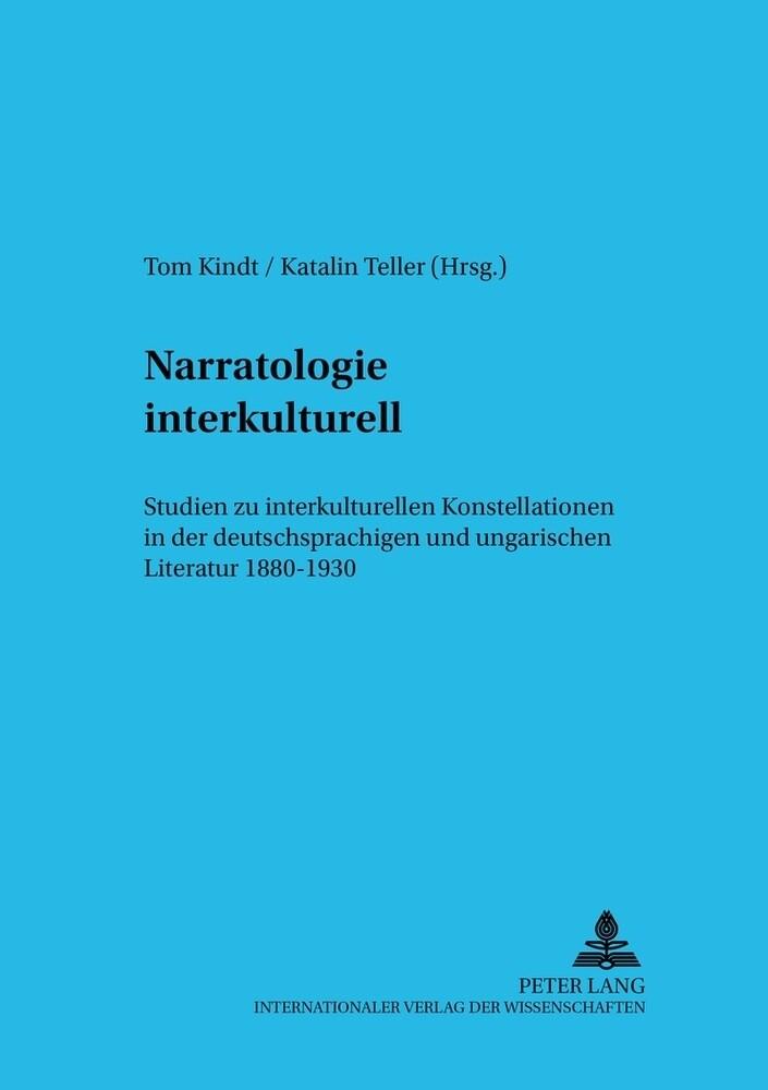 Narratologie interkulturell als Buch von