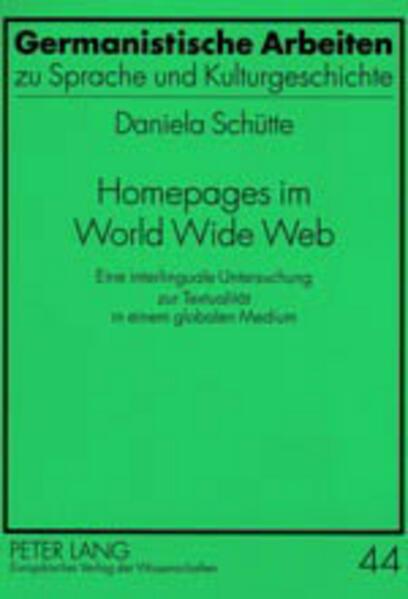 Homepages im World Wide Web als Buch von Daniel...