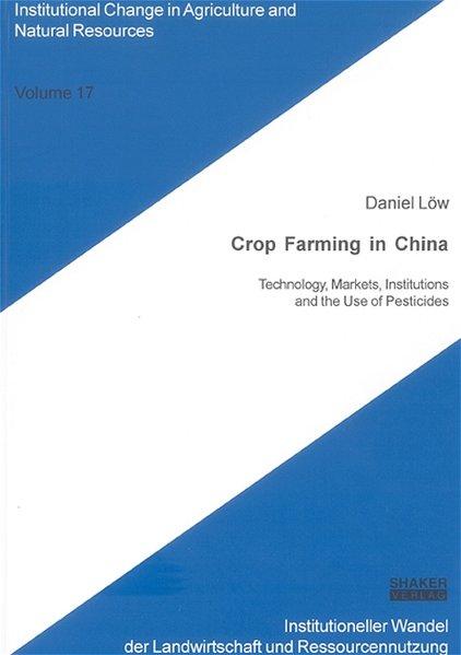 Crop Farming in China als Buch von Daniel Löw