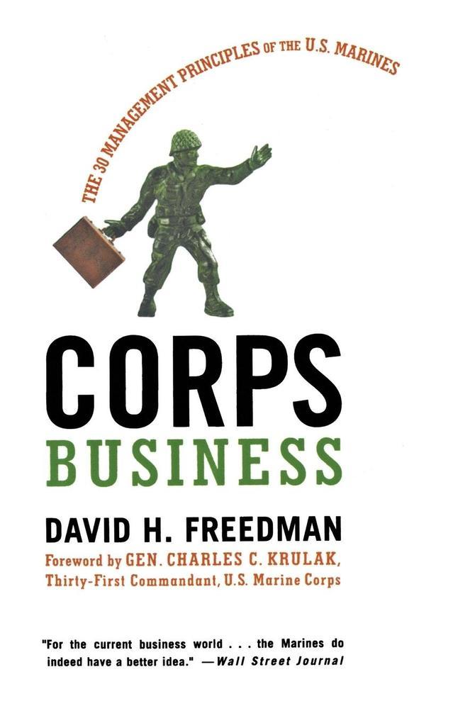 Corps Business als Taschenbuch