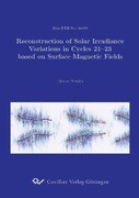 Reconstruction of Solar Irradiance Variations in Cycles 21-23 based on Surface Magnetic Fields