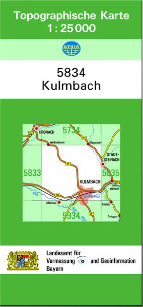 Kulmbach 1 : 25 000 als Buch von Breitband und ...