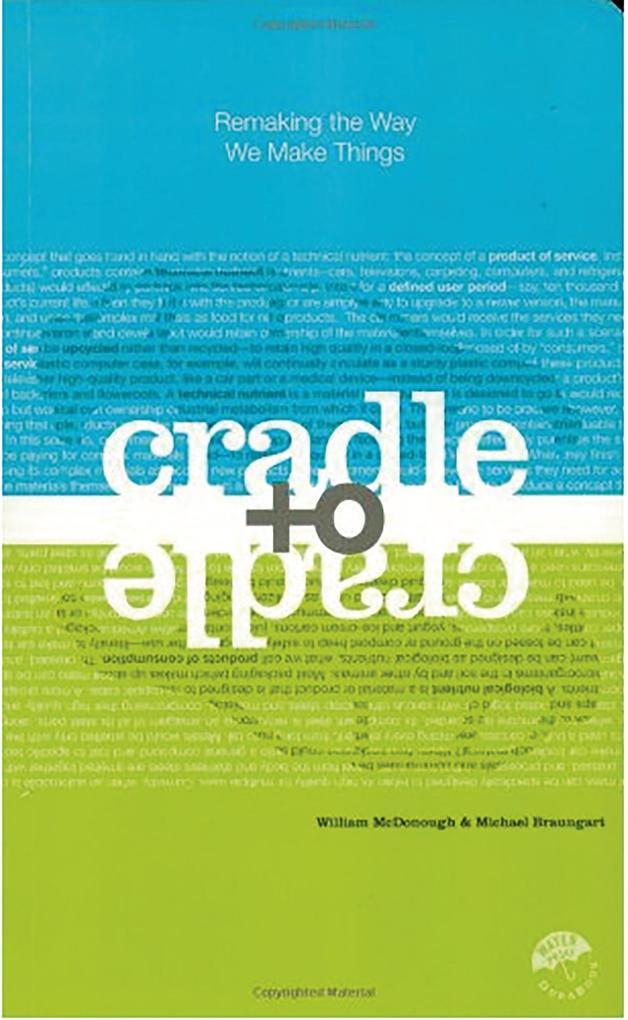 Cradle to Cradle als Buch