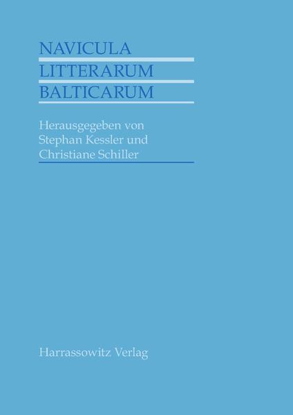 Navicula litterarum Balticarum als Buch