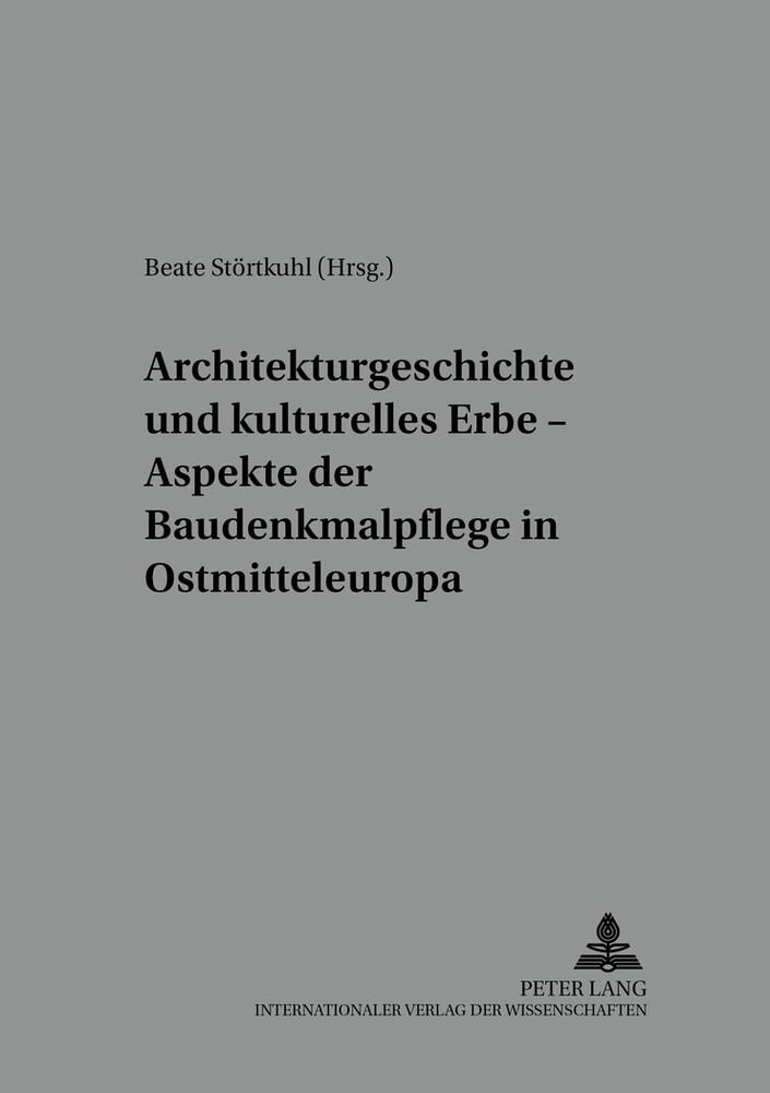 Architekturgeschichte und kulturelles Erbe - As...