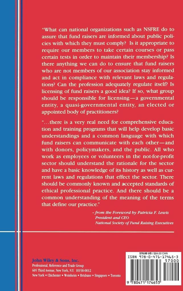 Critical Issues in Fund Raising (Afp/Wiley Fund Development Series) als Buch
