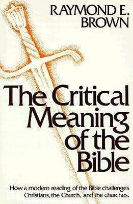 The Critical Meaning of the Bible als Taschenbuch