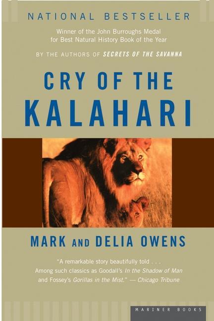 Cry of the Kalahari als Taschenbuch