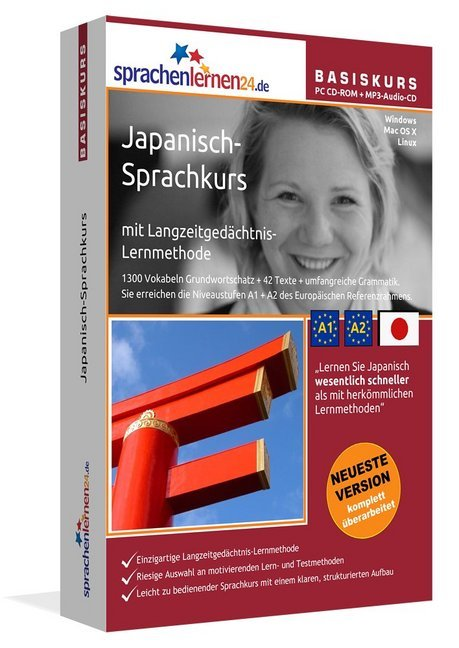 Sprachenlernen24.de Japanisch-Basis-Sprachkurs