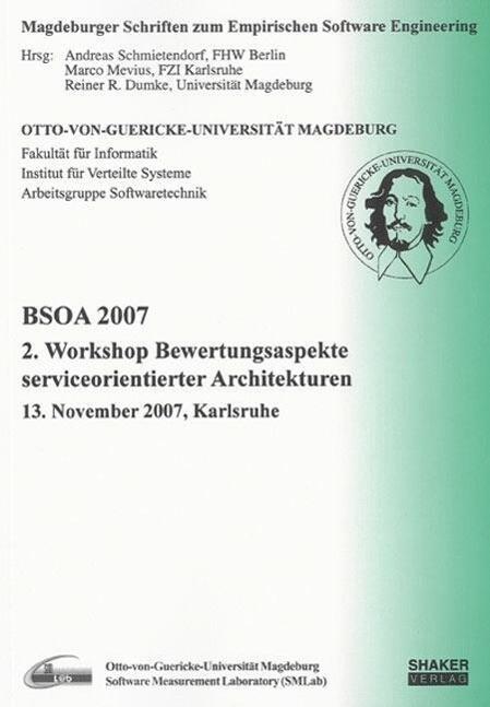 BSOA 2007 als Buch von