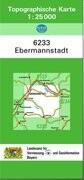 Ebermannstadt 1 : 25 000