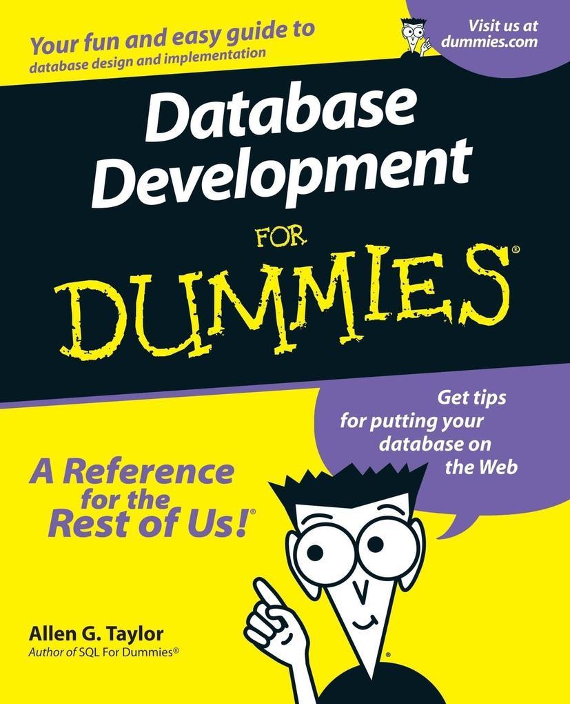 Database Development for Dummi als Buch