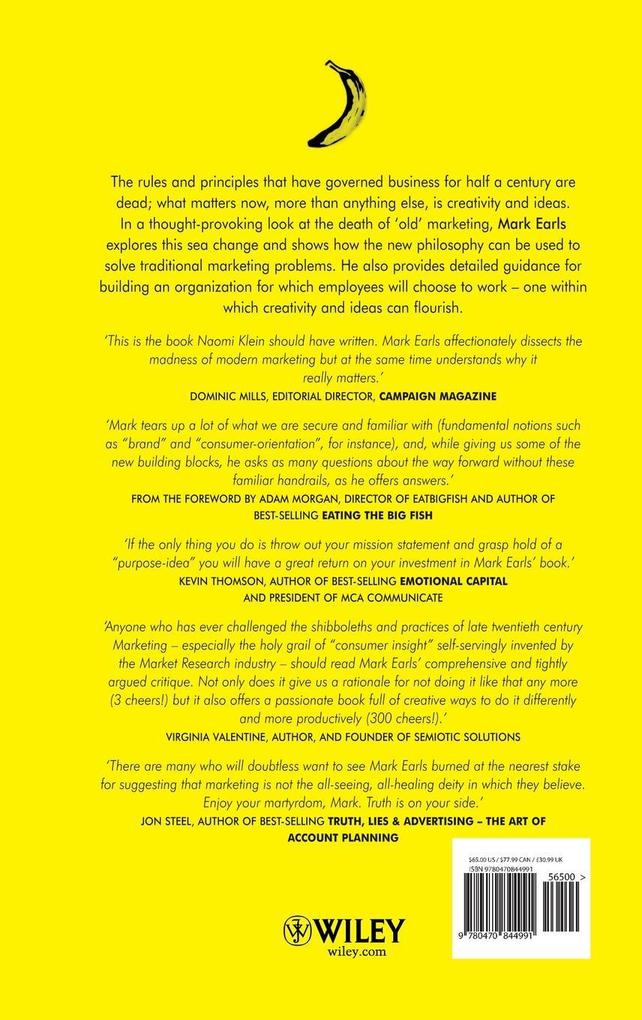 Welcome to the Creative Age: Bananas, Business and the Death of Marketing als Buch