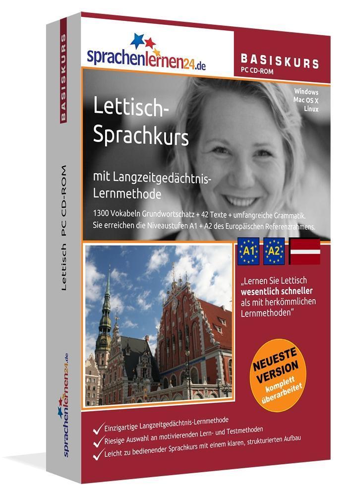 Sprachenlernen24.de Lettisch-Basis-Sprachkurs. ...