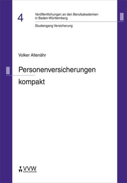 Personenversicherungen kompakt als Buch von Vol...