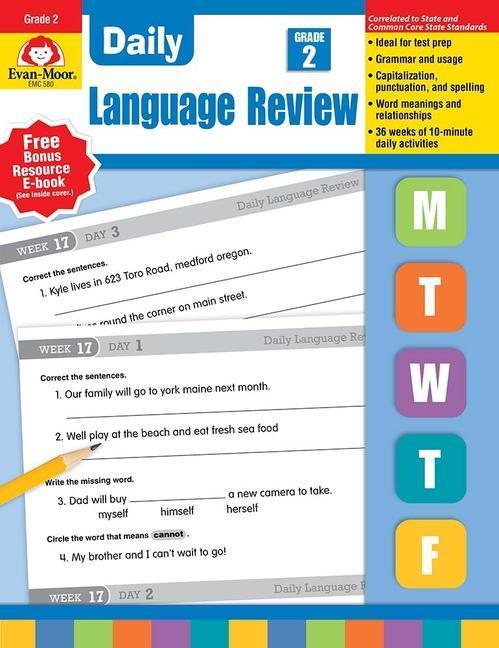 Daily Language Review, Grade 2 als Taschenbuch