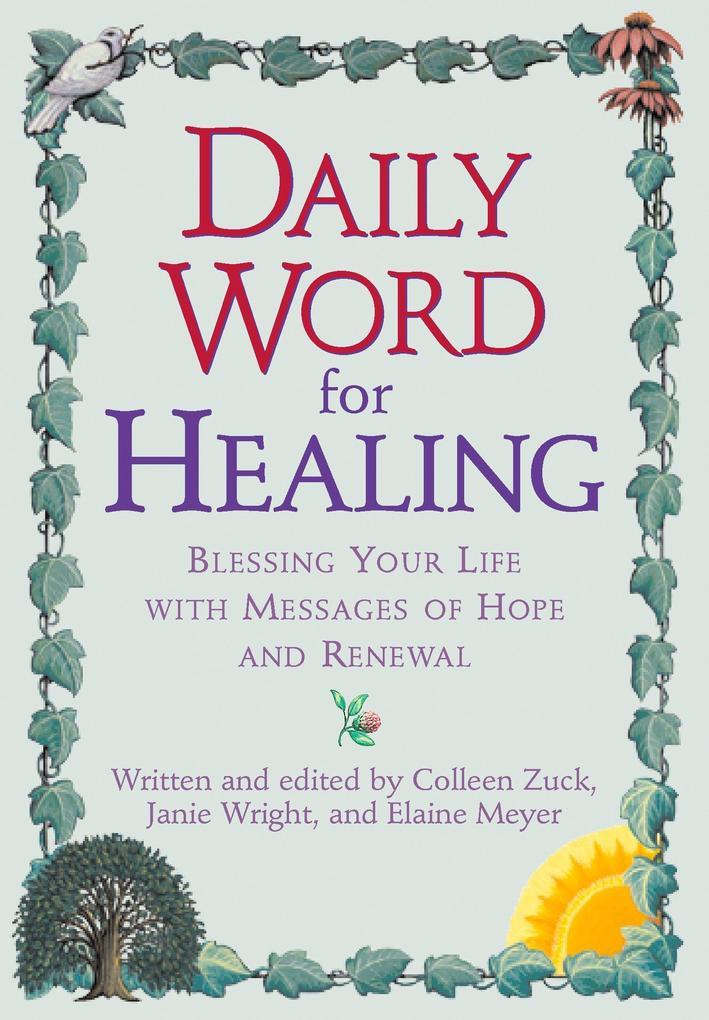 Daily Word for Healing als Taschenbuch