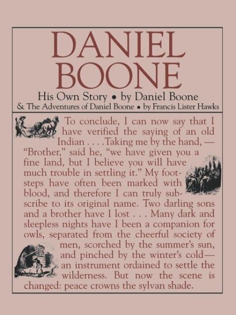 Daniel Boone: His Own Story: His Own Story als Taschenbuch