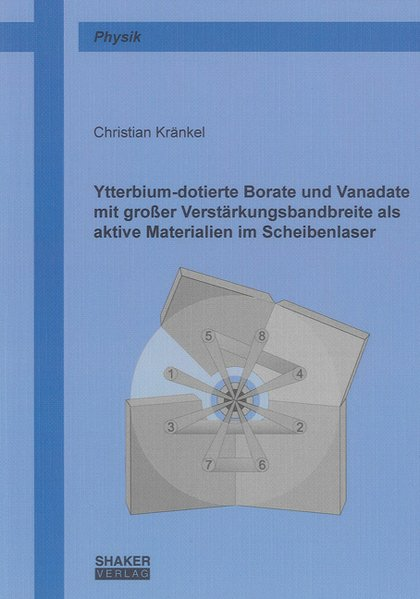 Ytterbium-dotierte Borate und Vanadate mit groß...